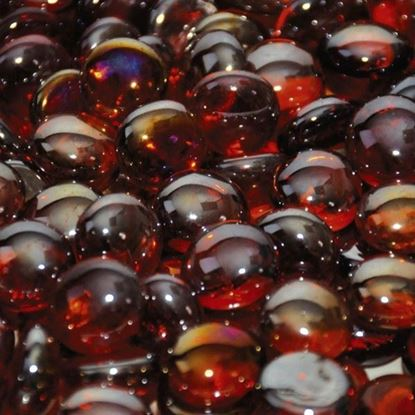 "Picture of 1/2"" Sangria Luster Firebeads (10 lbs)"