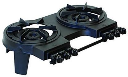 Picture of Double Burner Heavy Duty Cast Iron Stove, 63-5200