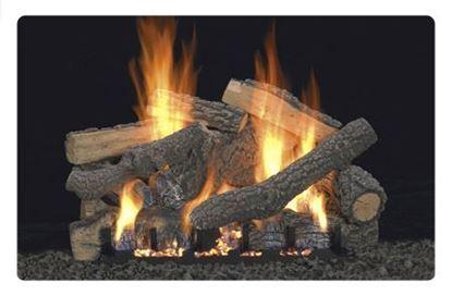 Picture of Empire Ponderosa Logs, Vent Free Slope Glaze Burner