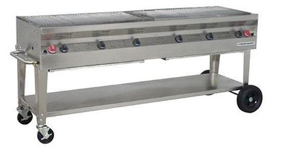 Picture of Silver Giant Commercial Stainless Steel Grill, SGC-72
