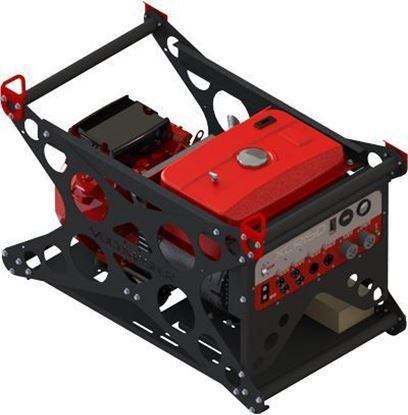 Picture of XCR150EV, Wanco 15kW Industrial Generator
