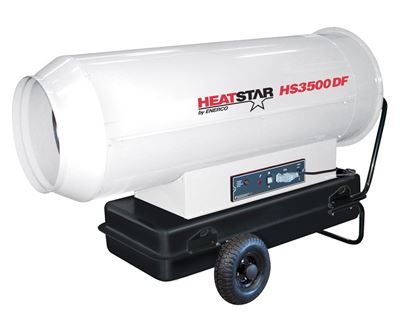 Picture of HeatStar High Pressure Forced Air Direct Fired Diesel-Kerosene Heater, HS3500DF, 360,000 BTU, F151089