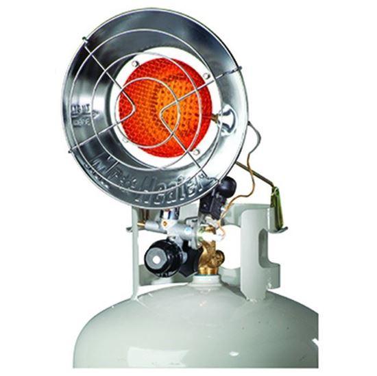 Picture of Mr. Heater Single Burner Tank Top Radiant Heater, MH15T, F242100, 15,000 BTU