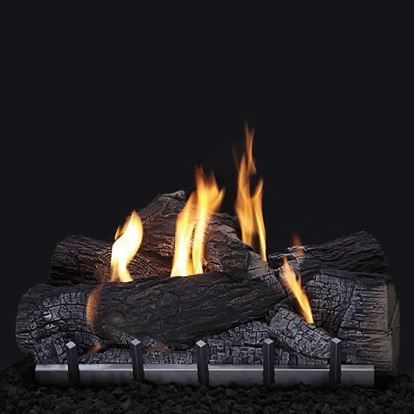Picture of Wildwood Outdoor Log Set, Stainless Steel Harmony Burner