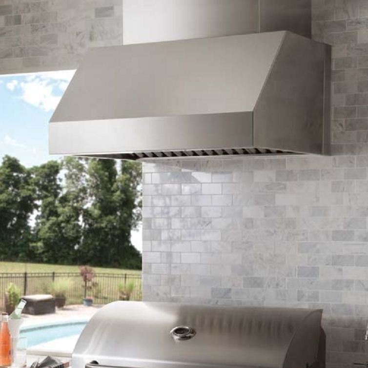 Broan 48 Stainless Steel Pro Style Outdoor Hood