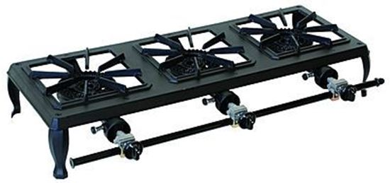 Picture of Triple Burner Economy Cast Iron Stove, 63-5113