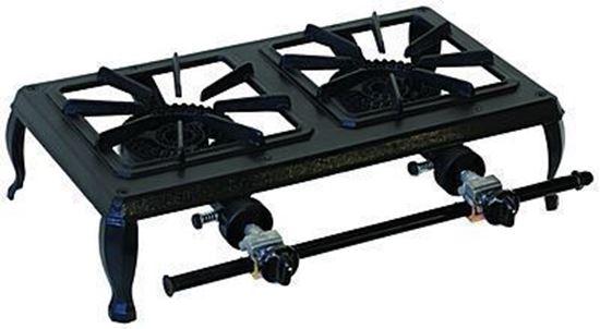 63-5112 double burner cast iron stove