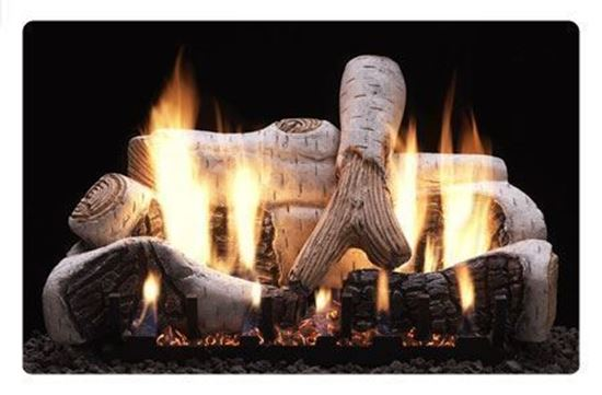 birch gas logs