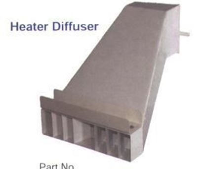 Picture of Heat Diffuser, THCP-HD85 (for THC-85 units)
