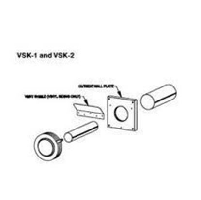 Picture of Slimline Vinyl Siding Kit, VSK-1