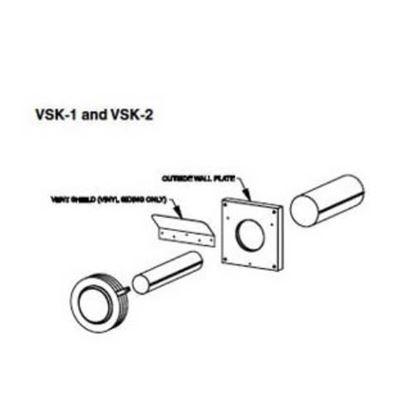 Picture of Slimline Vinyl Siding Kit, VSK-2