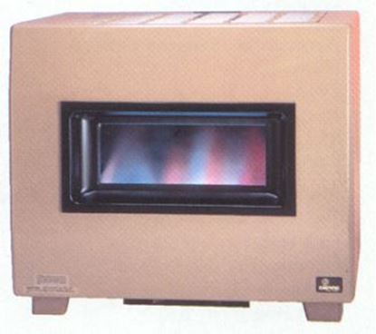Picture of Visual Flame Console Vented Room Heater w/Blower RH65B