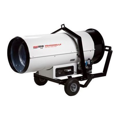 Picture of HeatStar Forced Air Duel Fuel Heater, 380,000 BTU, HS400NG-LP, F151200