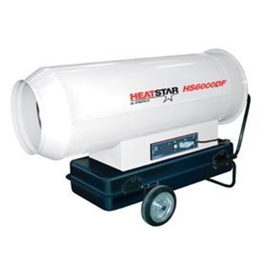 Picture of HeatStar High Pressure Forced Air Direct Fired Diesel-Kerosene Heater, HS6000DF, 600,000 BTU, F151100