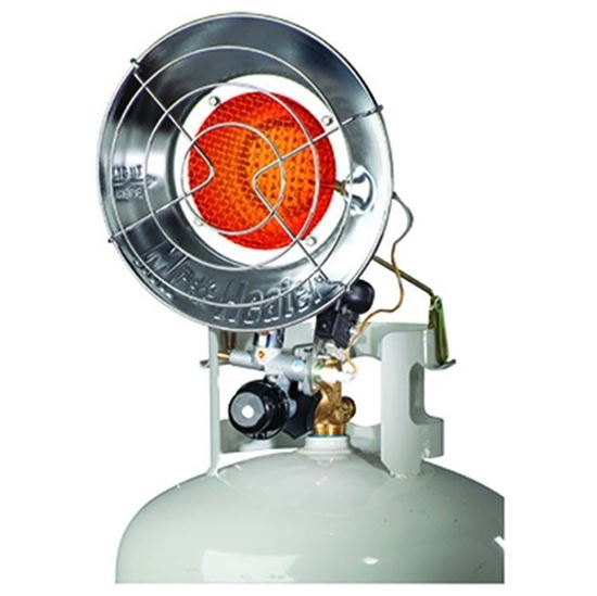 Picture of Mr. Heater Single Burner Tank Top Radiant Heater, MH15T, F242100, 15,000 BTU