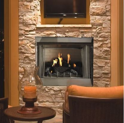 Picture of Carol Rose 36 Traditional Premium Outdoor Fireplace