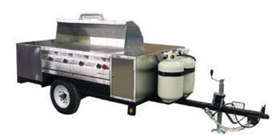 Picture of Silver Giant Stainless Steel Trailer Grill, SGC-48TR