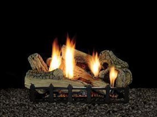 Empire Canyon Gas Fireplace Logs Vent Free Harmony Burner