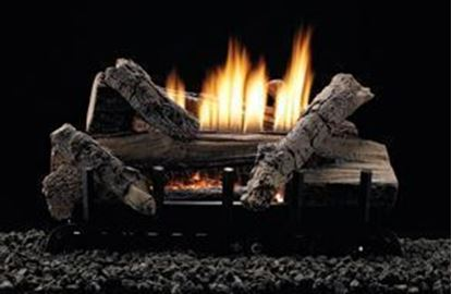 Picture of Empire Whiskey River Gas Log Set, Vent Free Contour Burner