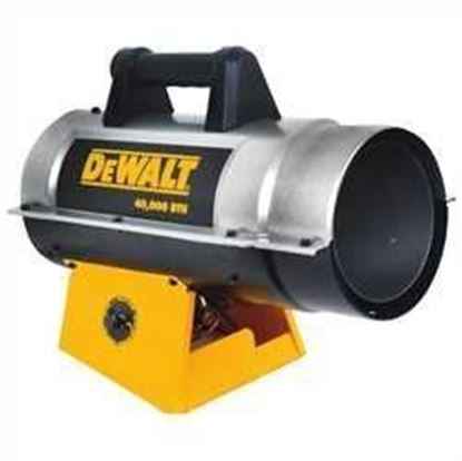 Picture of Dewalt Portable Forced Air Propane Heater, DXH40FA