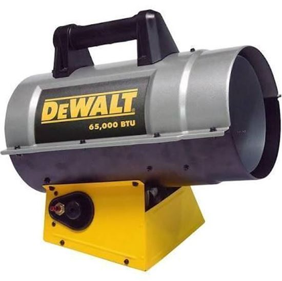 Forced Air Propane Heater >> Dewalt Portable Forced Air Propane Heater Dxh65fav