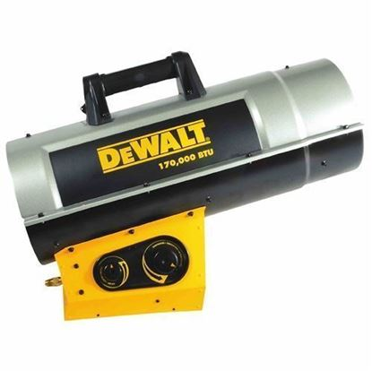 Picture of Dewalt Portable Forced Air Propane Heater, DXH210FAVT