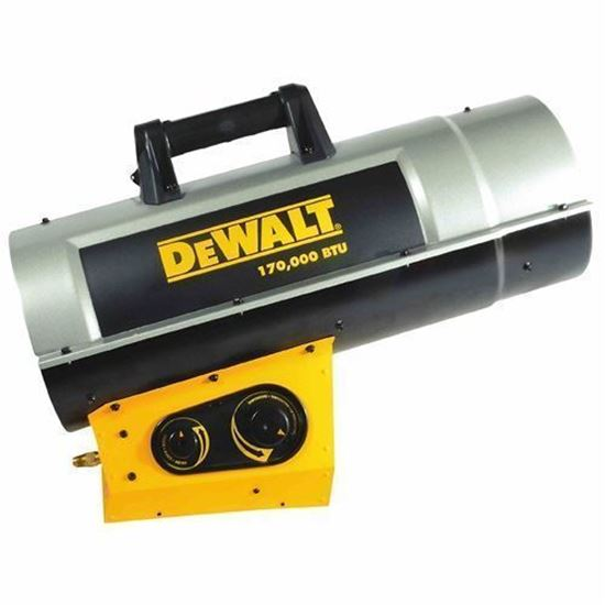 Forced Air Propane Heater >> Dewalt Portable Forced Air Propane Heater Dxh210favt
