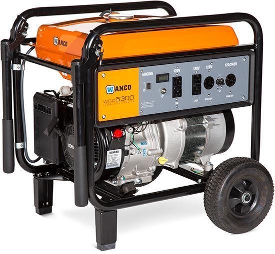 Wanco portable generator WGC5300
