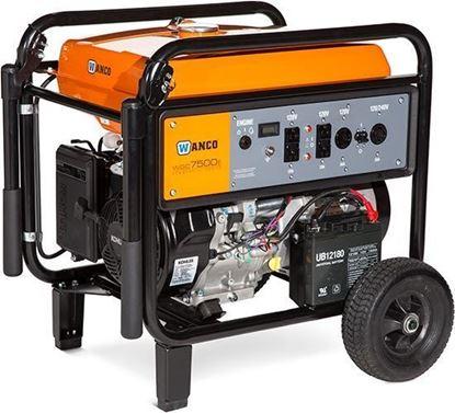 Wanco portable generator WGC7500E