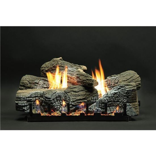 Empire Wildwood Gas Fireplace Logs Vent Free