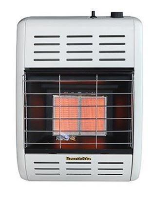HearthRite infrared radiant vent free heater, HR10M, HR10T