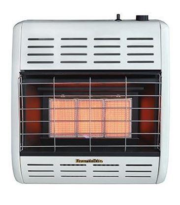 HearthRite infrared radiant vent free heater, HRW17M, HRW17T