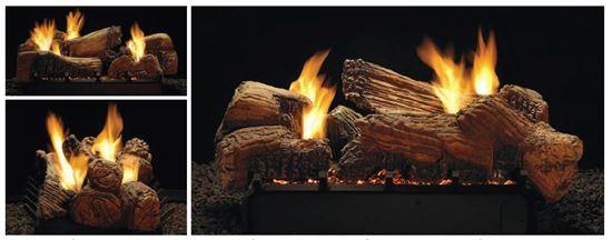 stone river vent free gas log set