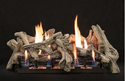 Empire driftwood vent free gas log set